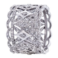 Bague-Delicate-Lace-Florentine-Or-Blanc-18K-Sertie-Diamants