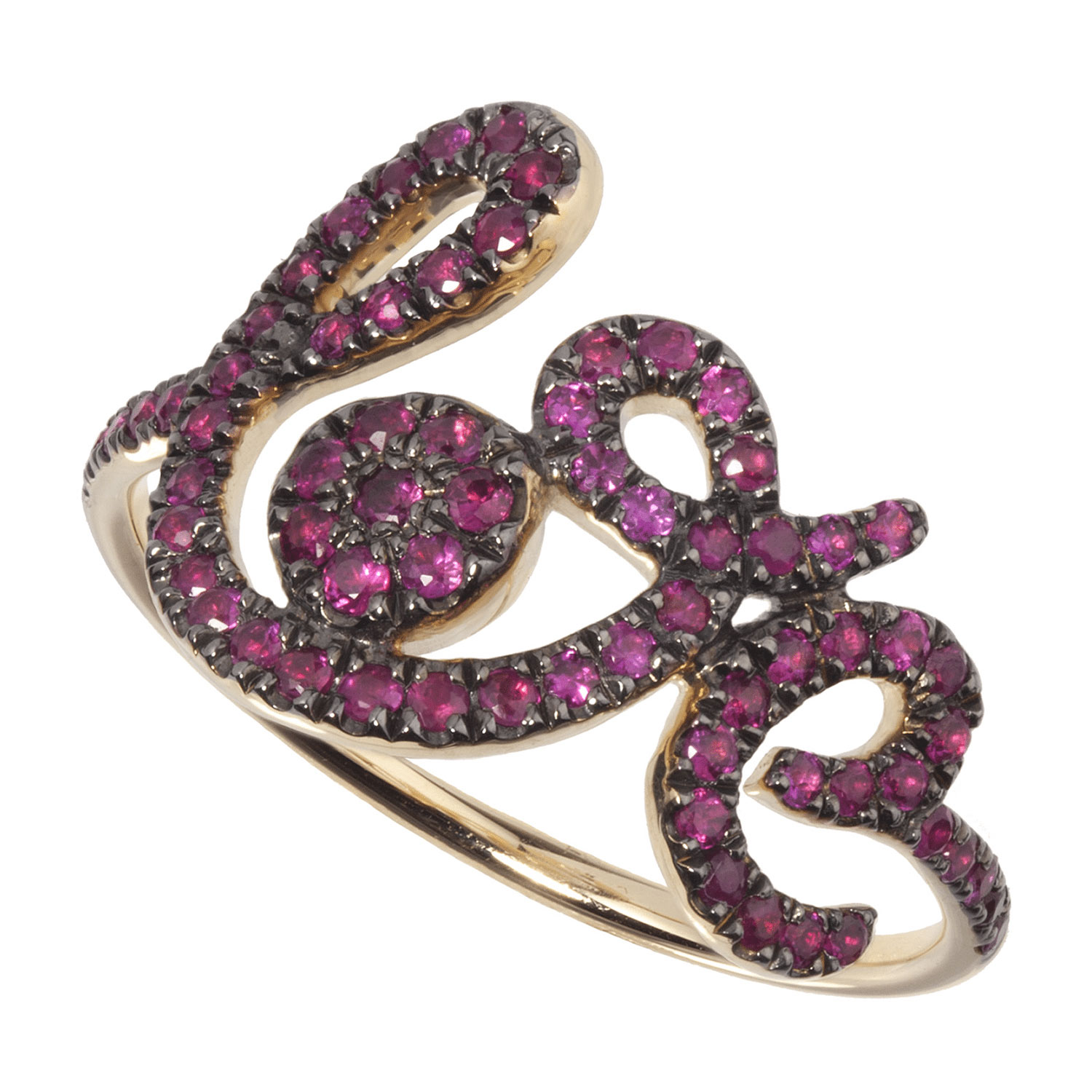 Bague Forever Love rubis