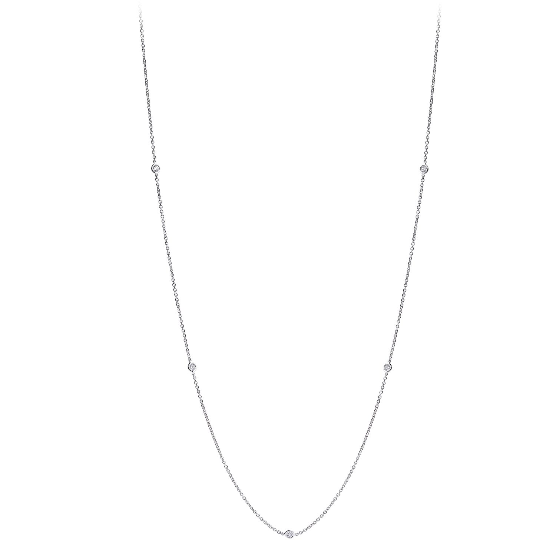 Collier Constellation Sautoir Or 18kSerti de diamants