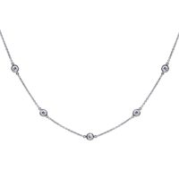Collier Constellation Souple Or 18k Serti de Diamants
