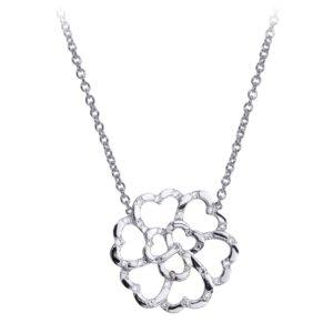 Collier Lucky Love Or 18k Parsemé Diamants