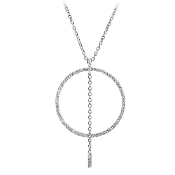 Collier Delight Or 18k Serti Diamants
