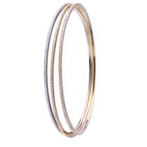 Set De 3 Bracelets Delight Rigides sertis de Diamants Tour Complet