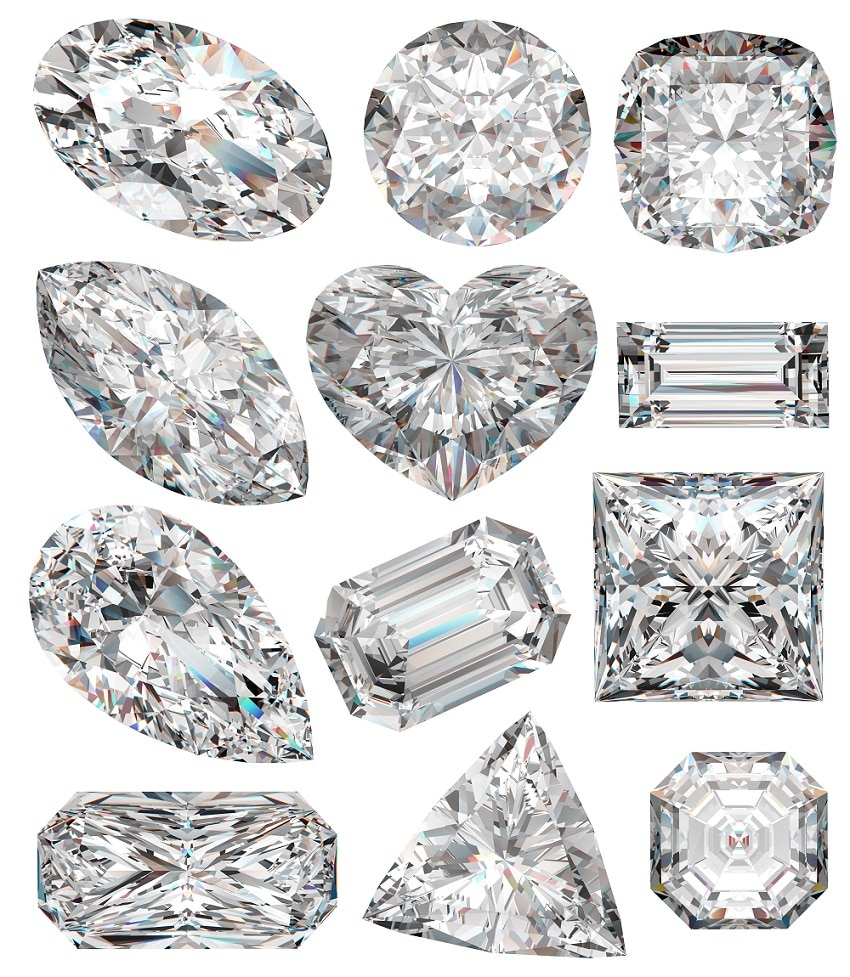 Diamants fantaisie