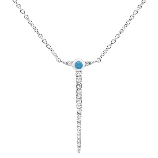 Collier pendant cyclades paros Or et diamants