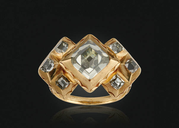 Bague Or et Diamants Collection Al Thani