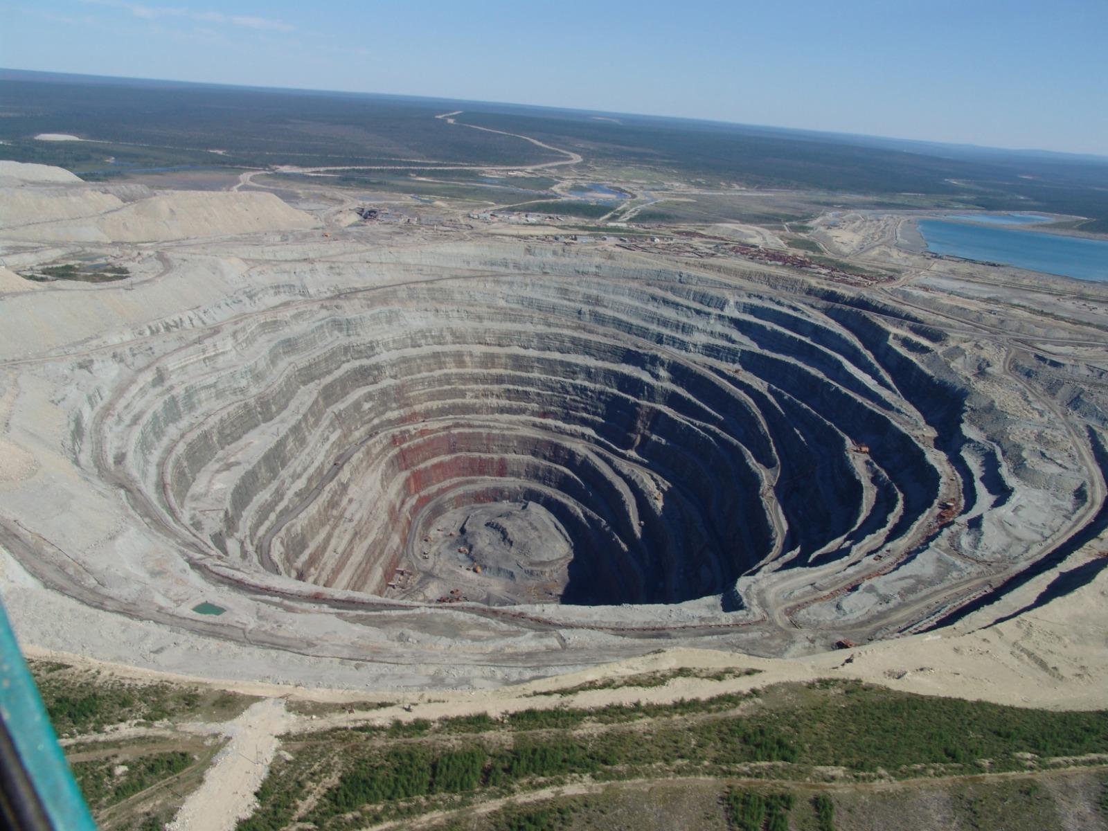Forage minier diamant
