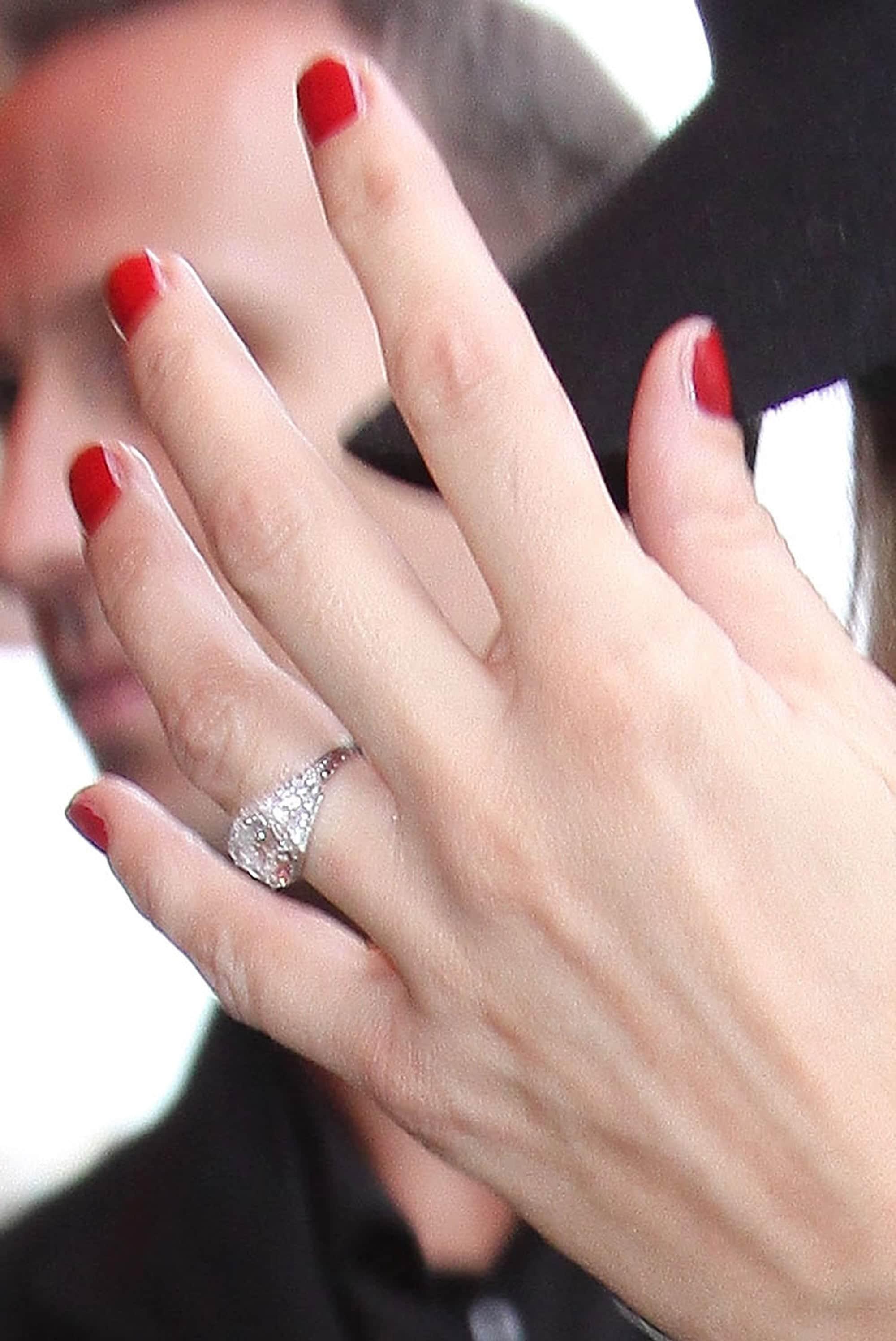 bague de fiançailles de Kate Moss
