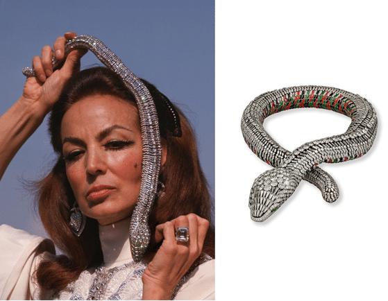 Maria Felix et son mythique collier Cartier pour