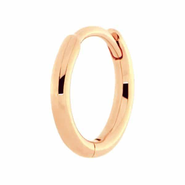 Piercing-oreille-femme-Hoops-or-rose-18k
