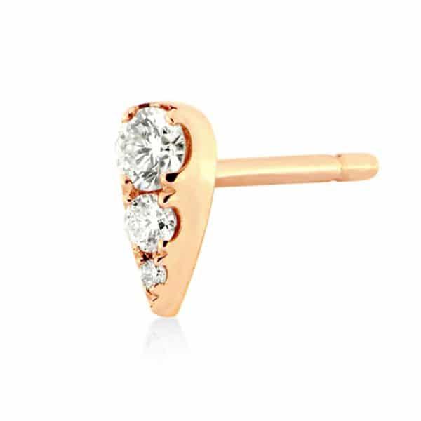 Piercing-oreille-femme-poire-or-rose-18k