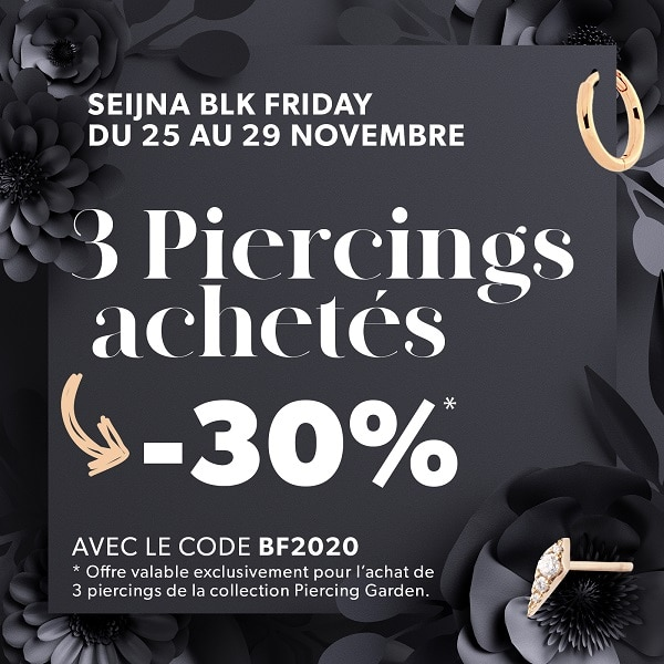 Popup BlackFriday Seijna -30%