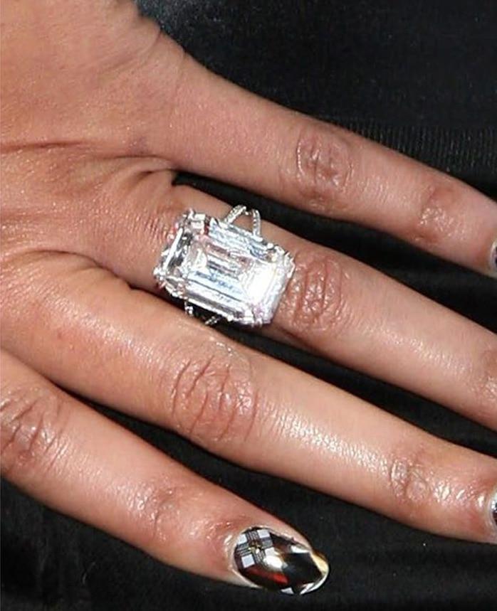 Bague de fiançailles de Beyoncé