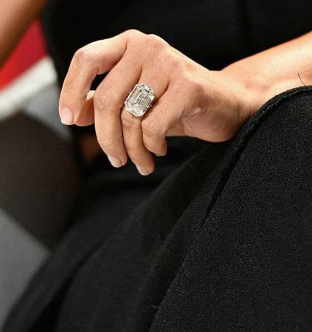 bague de fiançailles de Kim Kardashian