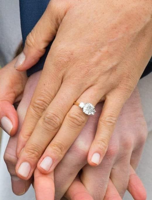 bague de fiançailles meghan markle