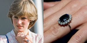 Bague de fiançailles de la princesse Diana