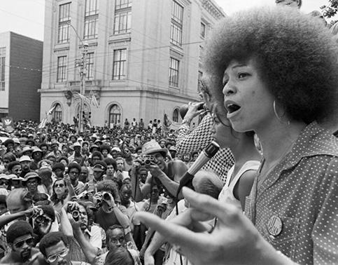Angela Davis - militante des droits civiques