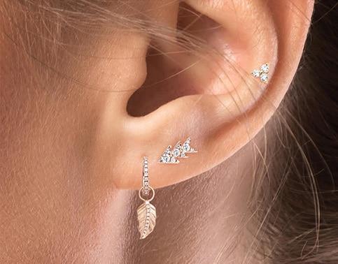 piercings garden pour femme delight XL or 18k