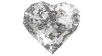 bague fiancaille diamant coeur